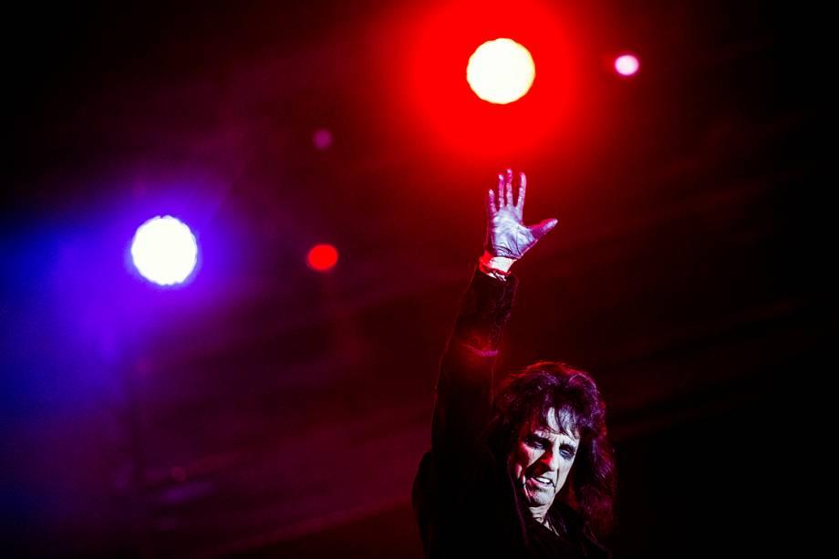 Alice Cooper se apresenta no Palco Sunset, durante o quarto dia da sétima edição do Rock In Rio realizada no Parque Olímpico do Rio de Janeiro, RJ - 21/09/2017