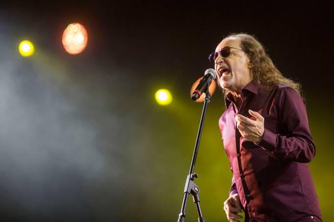 Alceu Valença durante show do Grande Encontro no quinto dia do Rock in Rio