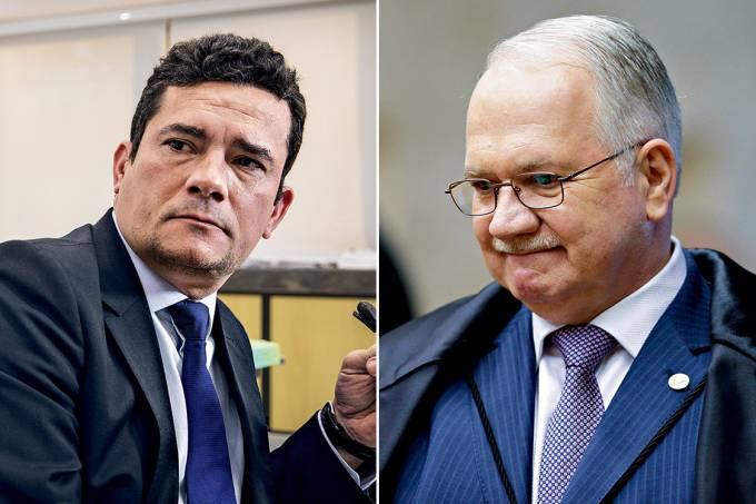 Justiça – O juiz Sergio Moro e o ministro Edson Fachin: nas mãos de ambos, o desafio de impedir que a impunidade dos políticos comprometa o resultado da maior investigação de corrupção da história