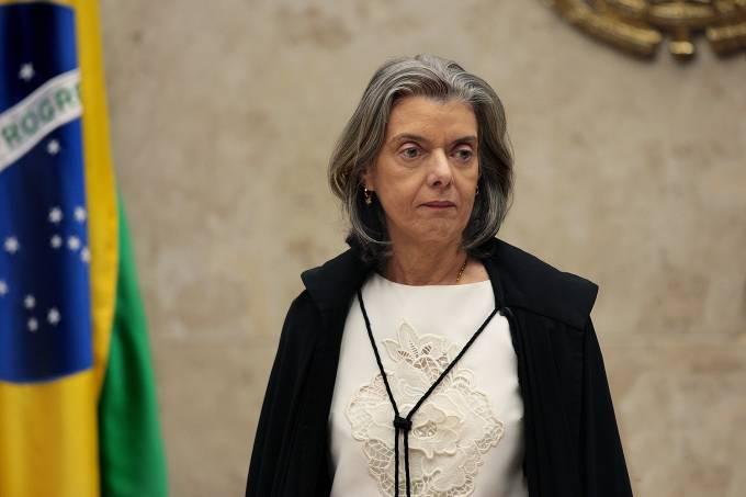 A ministra Carmem Lúcia