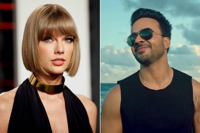 Taylor Swift e Luis Fonsi