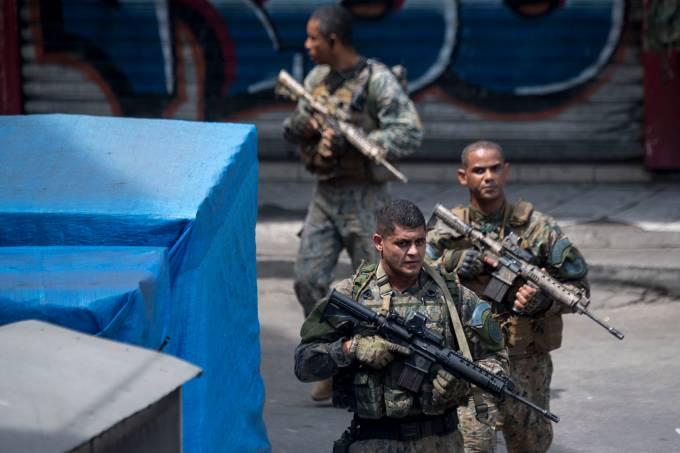 Tiroteio na Favela da Rocinha