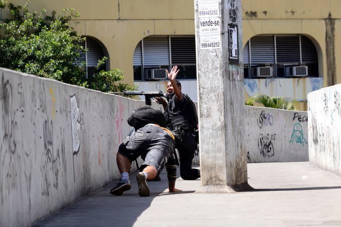 Tiroteio na Rocinha – Rio de Janeiro