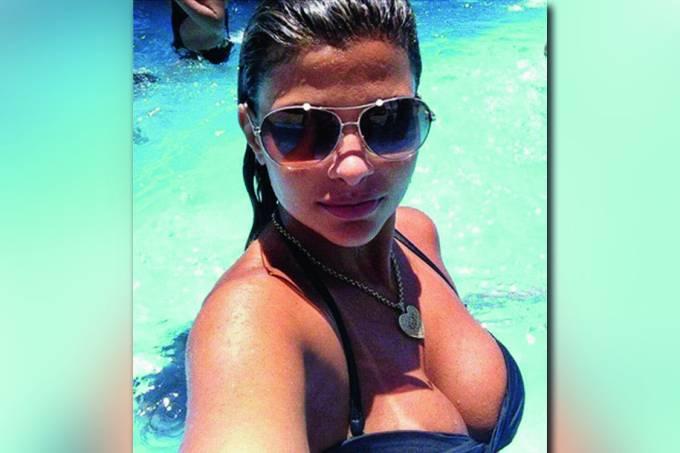 Danúbia de Souza Rangel, mulher de Nem – Rocinha