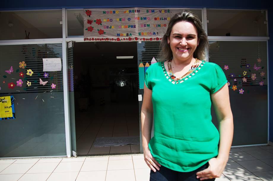 Adriane Gallo, finalista do prêmio Educador nota 10