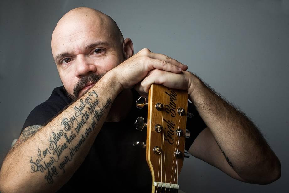 O músico, empresário e publicitário Erick Barbi, 38 anos.