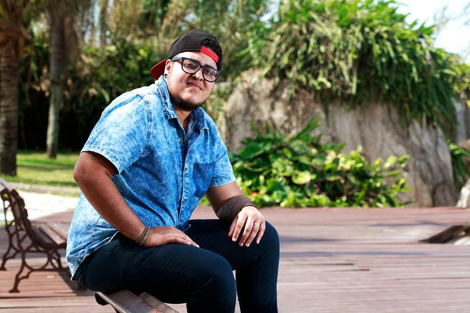 O auxiliar de escritório e empreendedor da gastronomia Matthew Miranda Gondim, de 25 anos