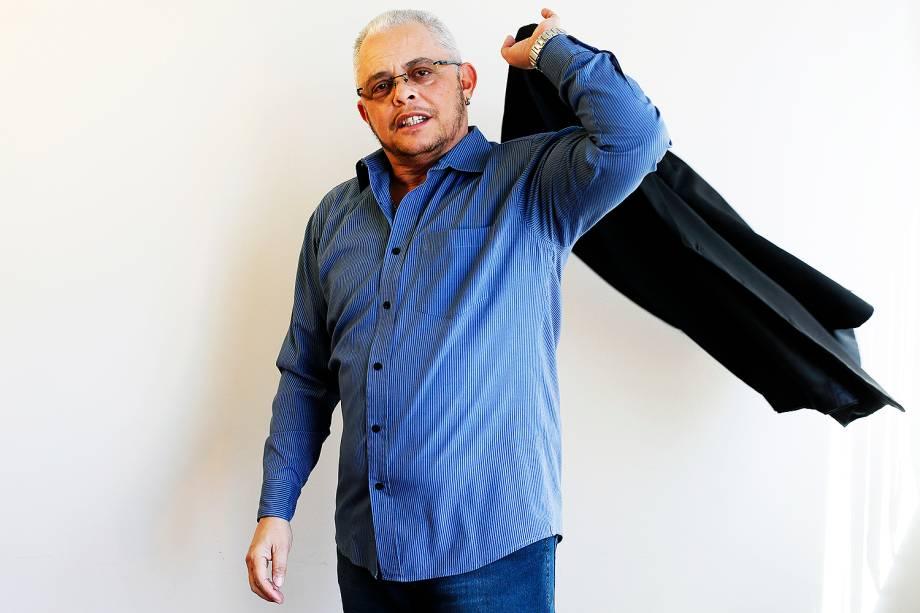 O guarda municipal Jordhan Lessa, de 50 anos