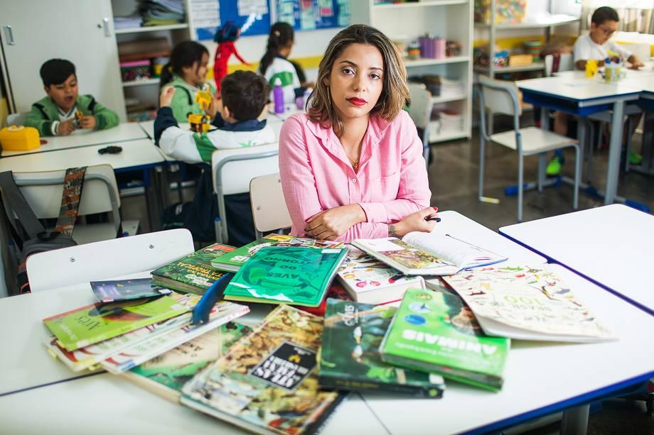 Luana Viegas de Pinho, finalista do Prêmio Educador Nota 10
