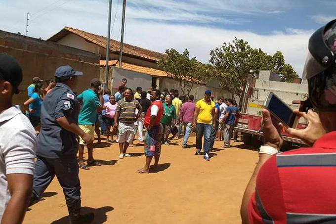 Incêndio atinge creche de Janaúba em Minas Gerais