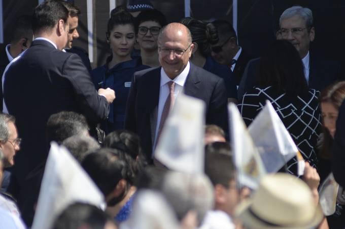 Geraldo Alckmin em Aparecida do Norte