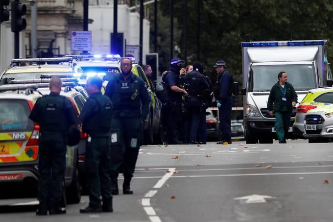 Atropelamento em Londres, Inglaterra