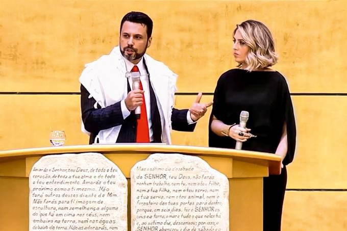 Em família – Renato e Cristiane Cardoso: unidos no culto, na venda de livros e na ambição de chefiar a Universal