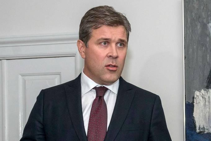 O primeiro-ministro da Islândia, Bjarni Benediktsson