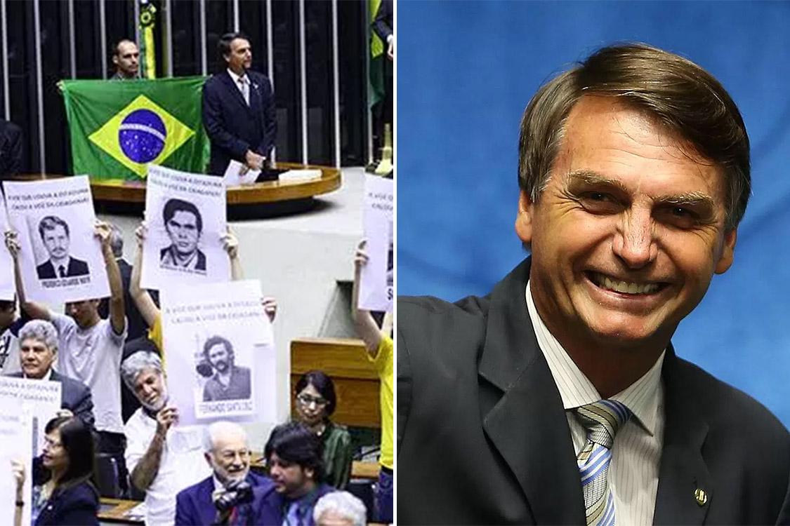 Antes e depois: Bolsonaro