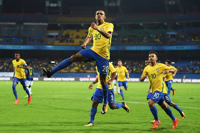 Com dois de Brenner, Brasil vence Honduras e vai para as quartas do Mundial sub-17 – 18/10/2017