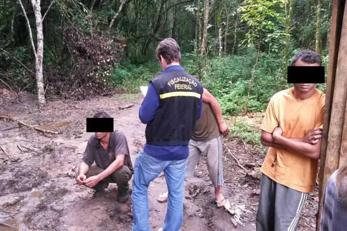 Operação contra o Trabalho Escravo