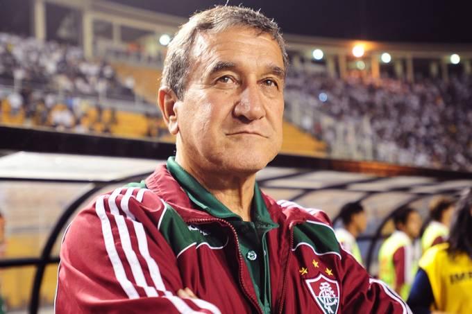 Carlos Alberto Parreira, técnico do Fluminense, em 2009