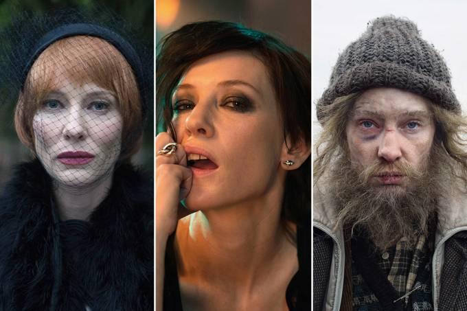A atriz Cate Blanchett em diferentes papéis para o filme 'Manifesto'