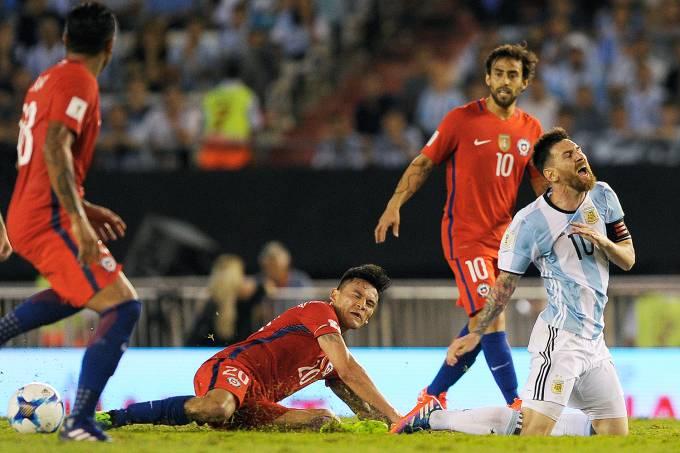 Messi – Argentina e Chile