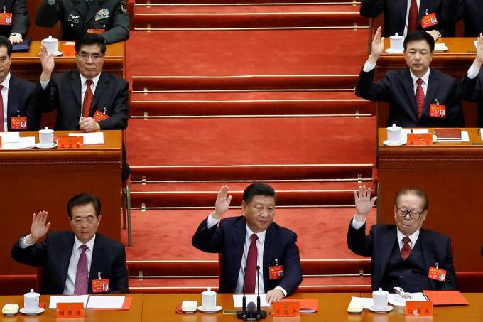 Presidente chinês Xi Jinpin