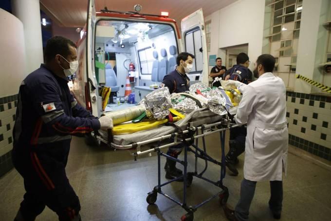 Segurança ateia fogo em creche de Janaúba e mata 4 crianças