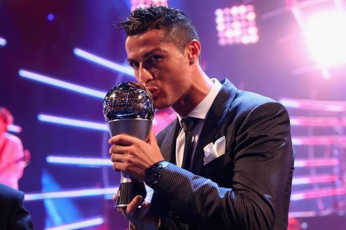 Melhor do Mundo Fifa 2017 – Cristiano Ronaldo