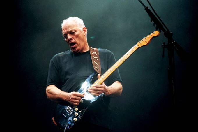 DVD – O guitarrista David Gilmour, ex-Pink Floyd, no show em Pompeia: de volta às ruínas, 45 anos depois