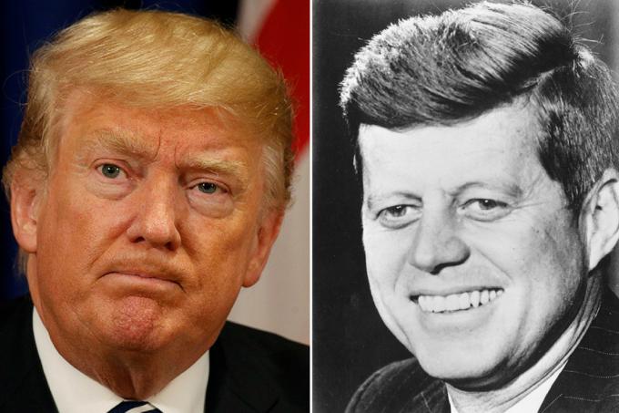 Trump e Kennedy