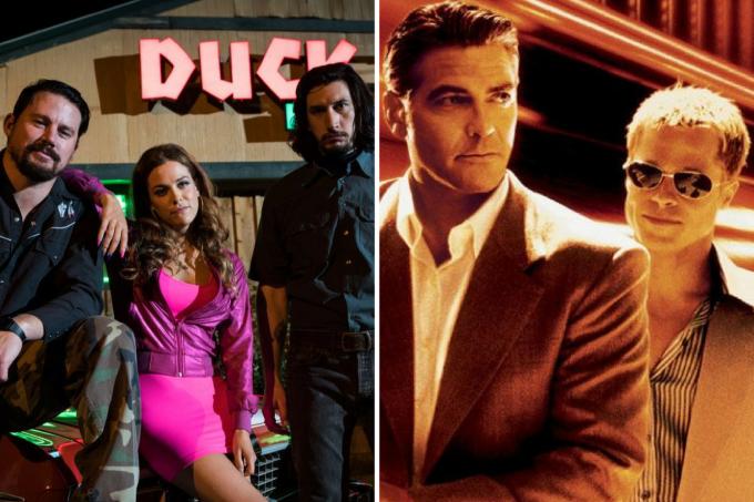 Dois filmes do diretor Steven Soderbergh: 'Logan Lucky' e 'Onze Homens e um Segredo'
