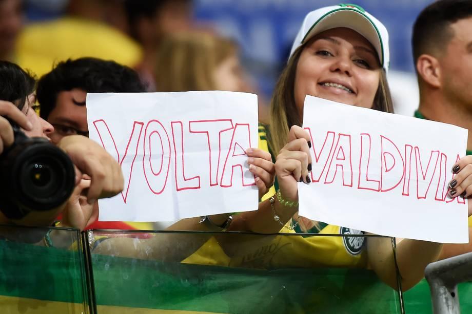 Partida entre Brasil e Chile, válida pela 18ª rodada (última) das Eliminatórias Sul-Americanas da Copa de 2018 (Rússia) no Allianz Parque, em São Paulo (SP) - 10/10/2017