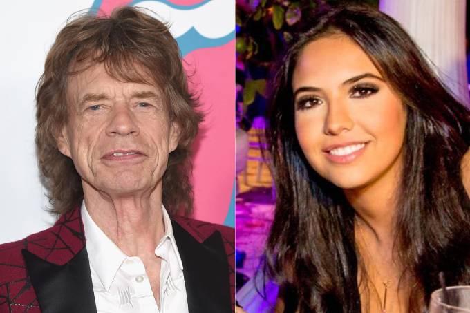 Mick Jagger e Noor Alfallah