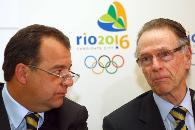 Sergio Cabral e Carlos Arthur Nuzman