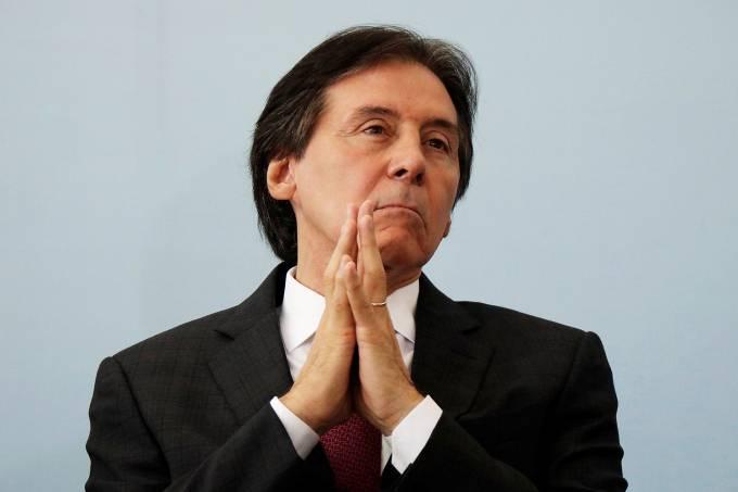 O presidente do Senado Eunício Oliveira