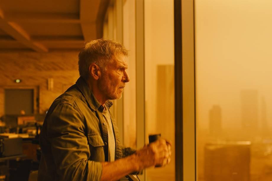 Harrison Ford retorna ao papel de Rick Deckard em 'Blade Runner 2049'
