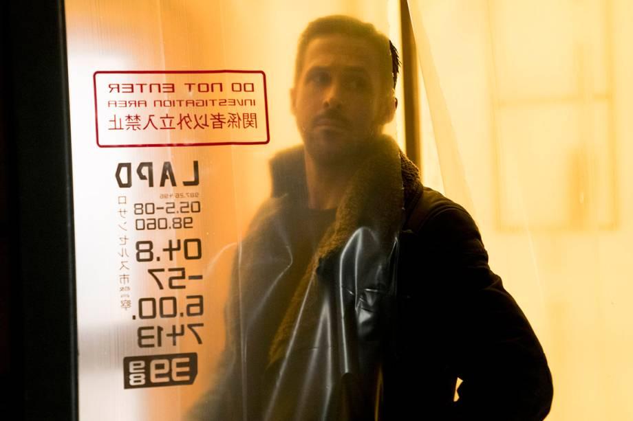 Ryan Gosling em 'Blade Runner 2049'