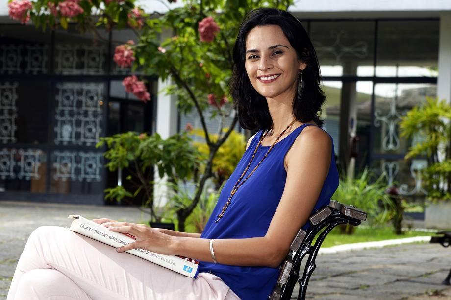 Flávia Roberta Alves Costa, finalista do Prêmio Educador Nota 10