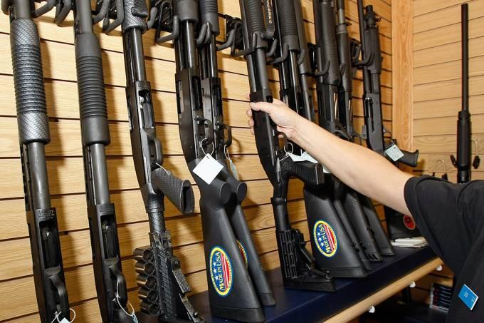 Lojas de armas em Las Vegas, Nevada