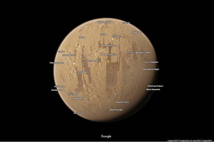 Google Maps – Espaço