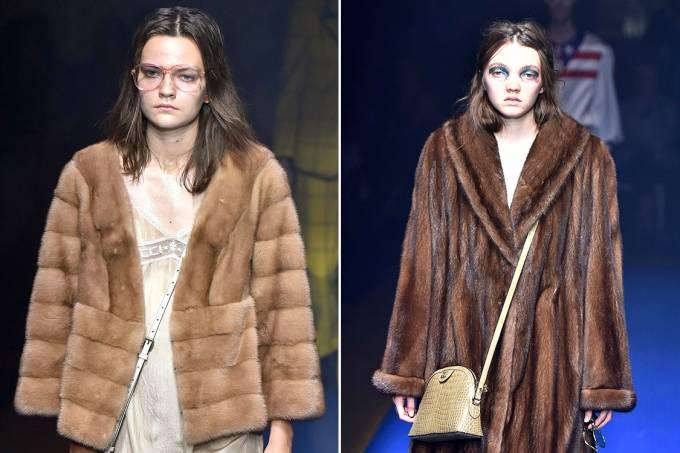 Desfile primavera verão 2018 da Gucci, na Semana d Moda de Milão