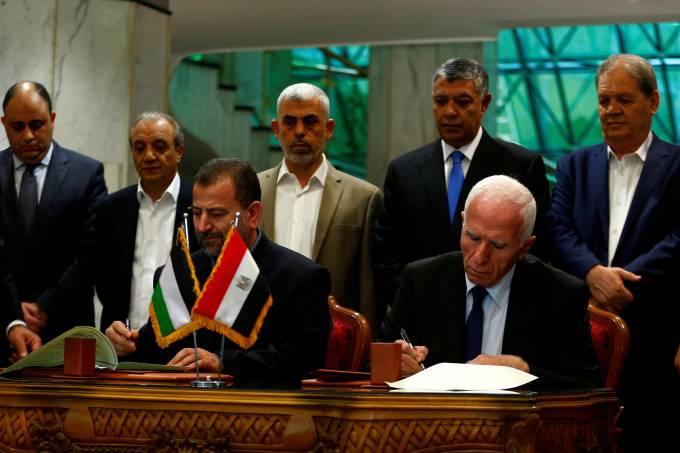 Encontro entre Hamas e Fath