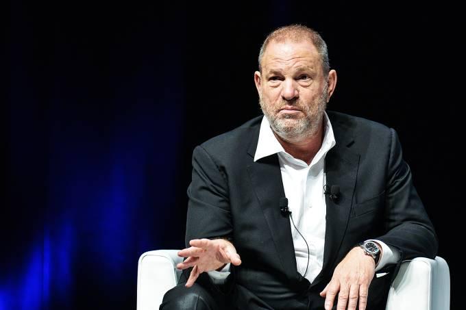 O produtor de filmes e seriados norte-americanos, Harvey Weinstein