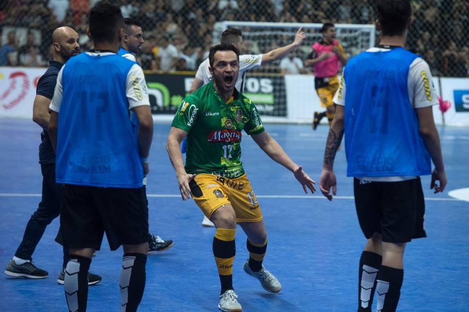Falcão provocou a equipe do Corinthians após o gol de empate na prorrogação