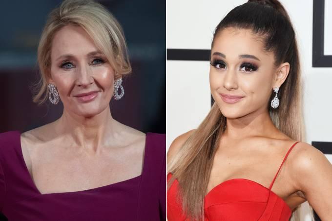 J.K. Rowling e Ariana Grande