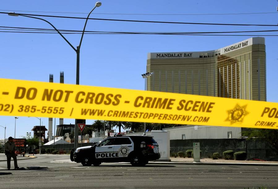Ataque a tiros durante um festival de música country em Las Vegas, nos Estados Unidos - 02/10/2017