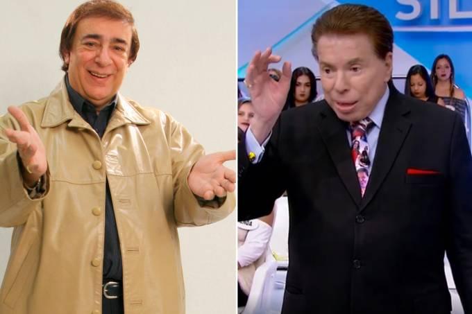 Lombardi e Silvio Santos