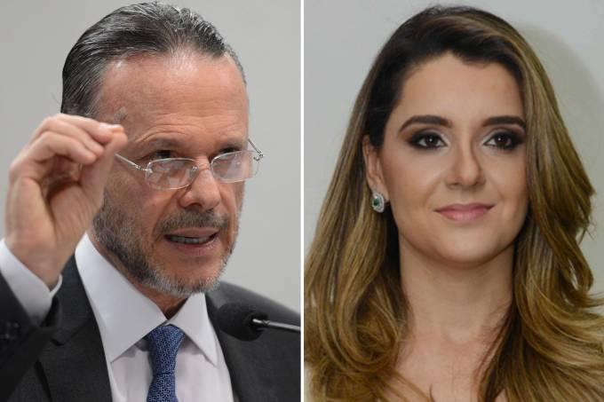 Luciano Coutinho e Carolina de Oliveira