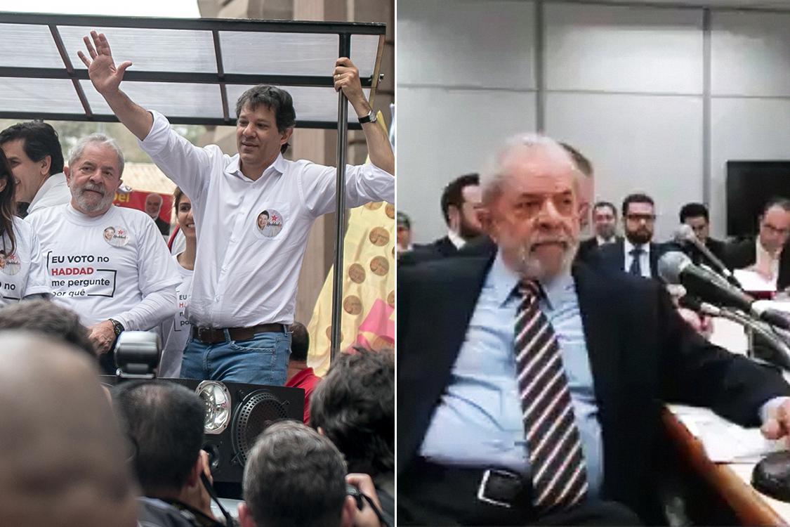 Lula, antes e depois