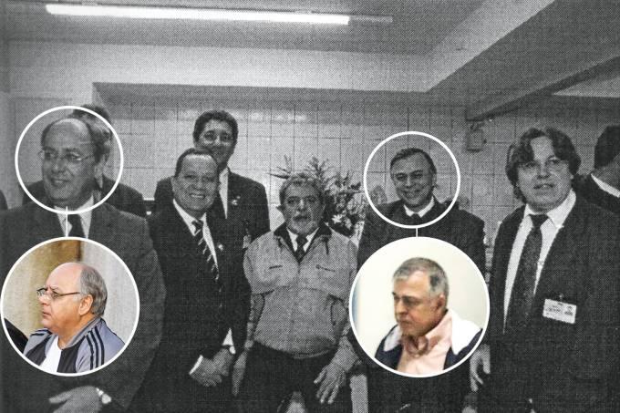 Lula, Paulo Roberto Costa e Renato Duque
