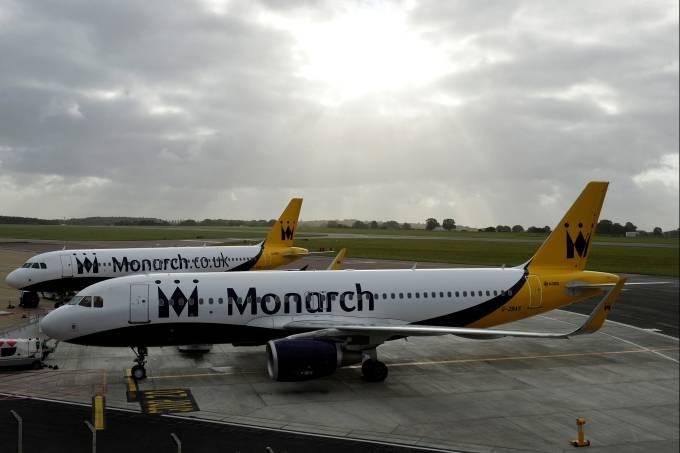 Avião da Monarch Airlines